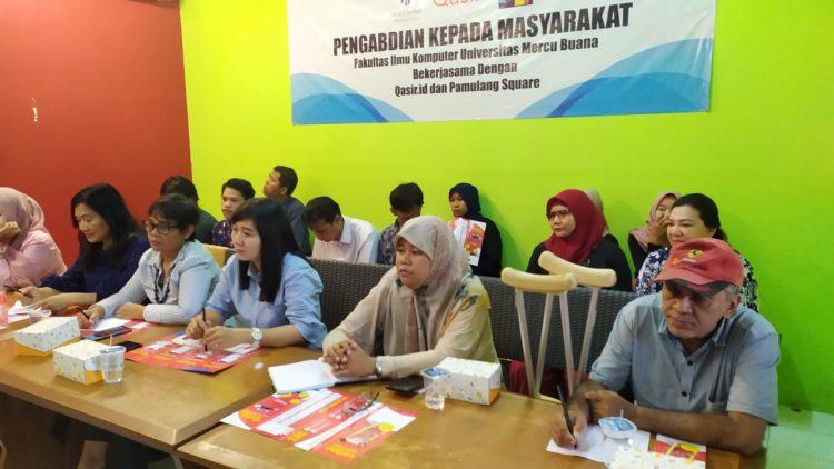 Pelatihan UMKM di Tangsel. (PHD)