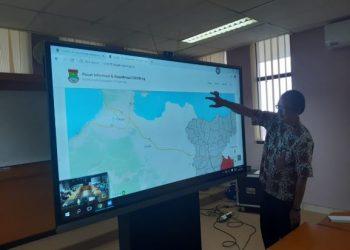 Layanan informasi virus corona di Kabupaten Tangerang. (IST)