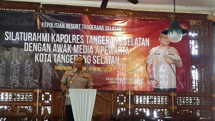 Kapolres Tangsel AKBP Iman Setiawan. (RAY)