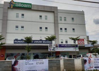 Salahsat rumah sakit rujukan viru corona di Kabupaten Tangerang. (NET)