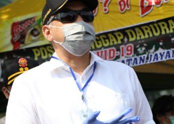 Bupati Tangerang, AHmed Zaki Iskandar. (VYH)