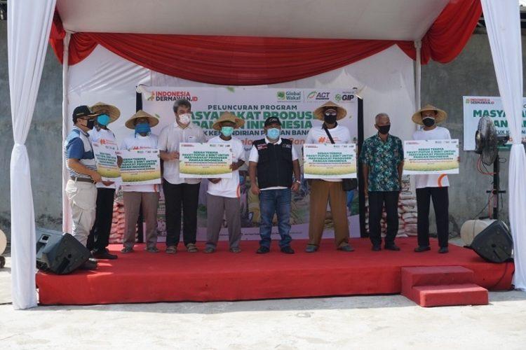 Peresmian program Masyarakat Produsen Pangan Indonesia. (IST)