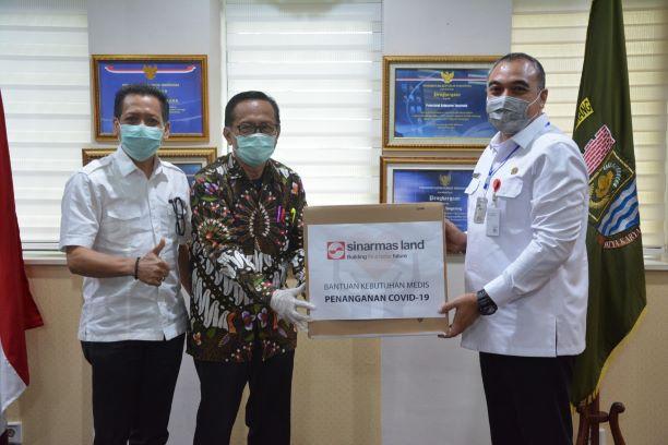 Bantuan rapid test Pemkab Tangerang. (IST)