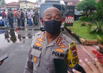 Kapolres Metro Tangerang Kota, Kombes Pol Sugeng Hariyanto. (NET)