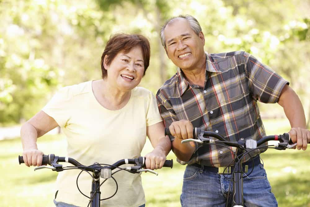 tips bersepeda untuk lansia