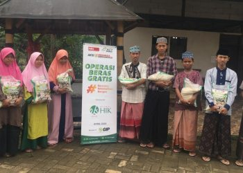 Distribusi program BERISI ACT Tangerang Raya. (IST)
