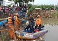 Pencarian anak tenggelam di Kota Tangerang. (KEY)