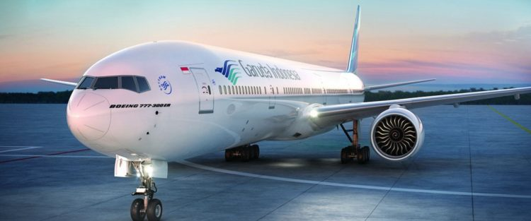 Pesawat Garuda Indonesia. (NET)