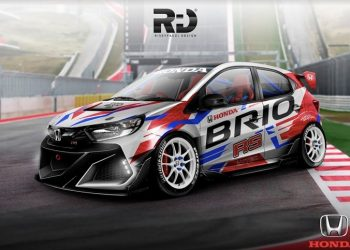 Modifikasi Honda Brio. (IST)