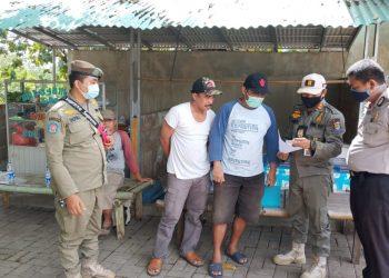 Satpol PP Kabupaten Tangerang menutup objek wisata. (IST)