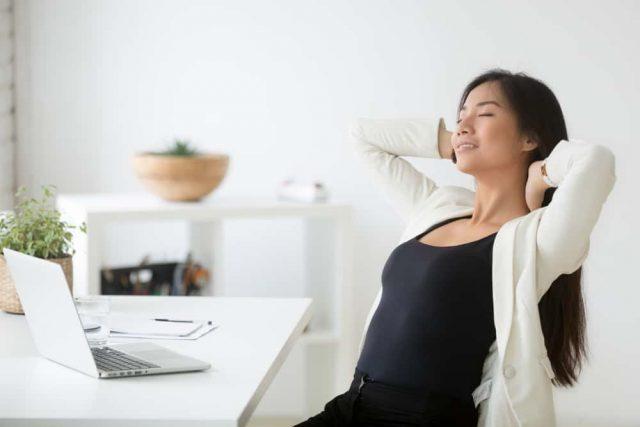 menghilangkan kecemasan energi positif