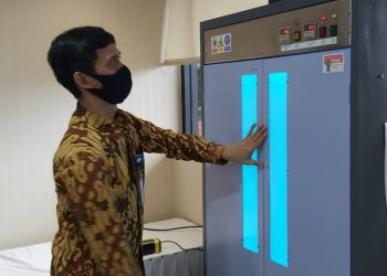Alat Sterilisasi Untuk Basmi Mikroba dan Virus. (IST)