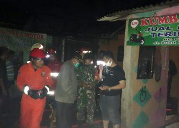 Lokasi kebakaran rumah di Ciputat, Tangsel. (PHD)