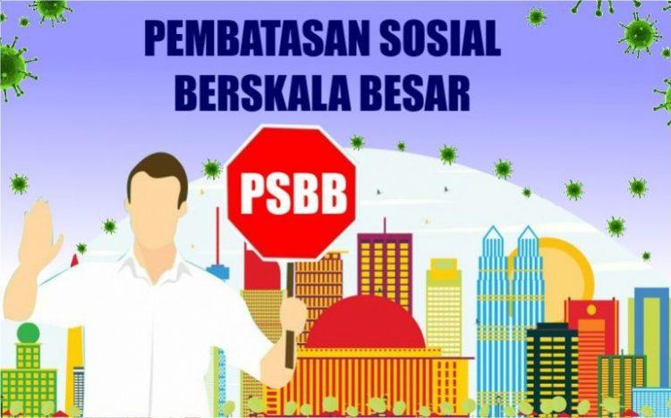 Pemkot Tangsel kembali memperpanjang PSBB selama 14 hari. (NET)