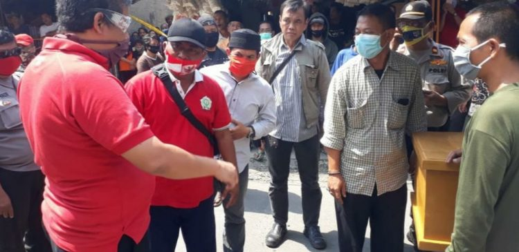Lokasi penganyiaan suam terhadap istri hingga tewas di Pamulang, Tangsel. (PHD)