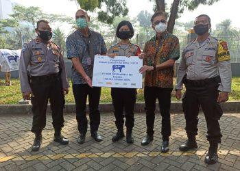Penyerahan hewan kurban dari Hero Group. (KEY)