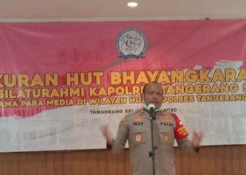 Kapolres Tangsel AKBP Iman Setiawan. (NIF)