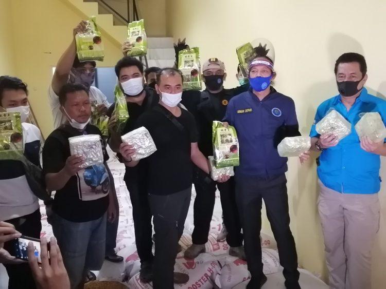 BNN sita 200 kilogram sabu di agen beras di Kota Tangerang. (RAY)