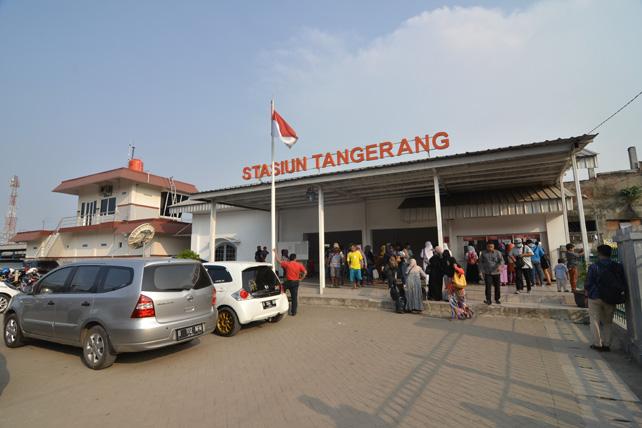 Stasiun Tangerang. (Net)