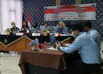 Kantor Imigrasi Kelas I Non TPI Tangerang. (KEY)