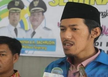 Ketua DPD KNPI Kota Tangerang Uis Adi Dermawan. (NET)