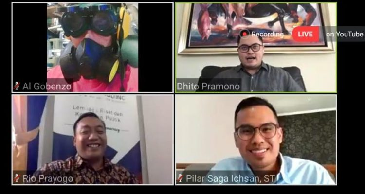 Webinar Politika Research and Consulting (PRC) Talk. (IST)