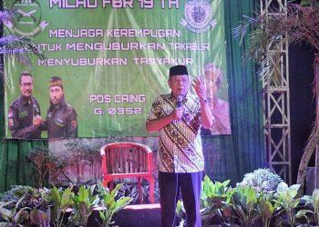 Benyamin Davnie hadiri Milad FBR di Ciputat. (RAY)