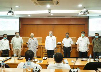Rakor pembahasan pembangunan tol di Kabupaten Tangerang. (IST)