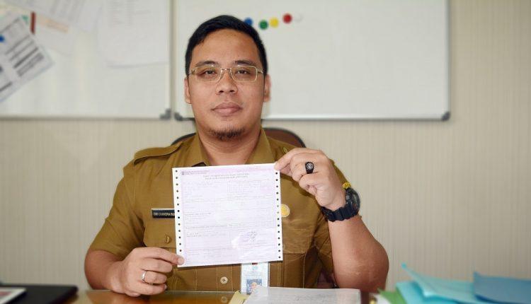 Kabid PBB dan BPHTB Pada Bapenda Kabupaten Tangerang Dwi Chandra Budiman. (RAY)