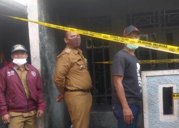 Lokasi kejadian kebakaran rumah di Ciputat. (SNG)