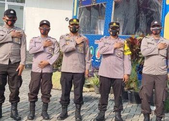 Pamatwil Serang Kunjungi Pos Pam di Cikande. (IST)