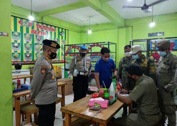Pelanggar PPKM Darurat disanski Polda Banten. (IST)
