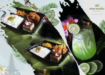 Kuliner khas Bali di Hotel Santika ICE BSD. (IST)