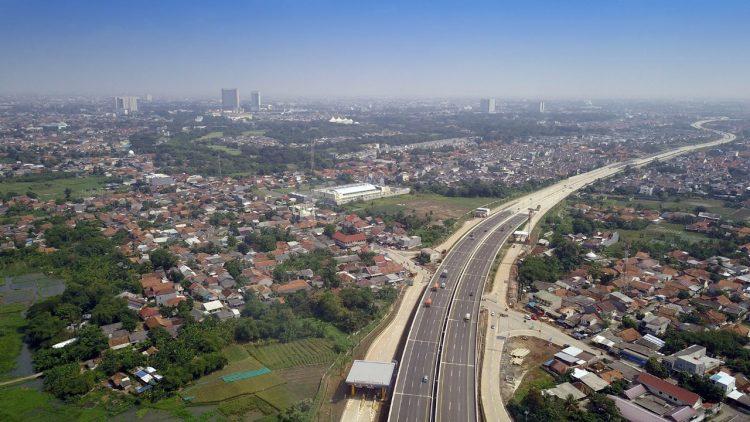 Foto udara kawasan Modernland, Kota Tangerang. (IST)
