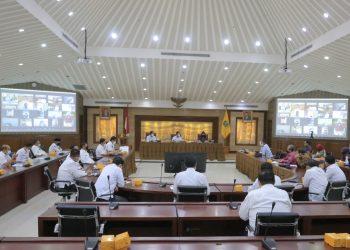 Kunjungan Kementerian Dalam Negeri ke Puspemkot Tangerang. (IST)