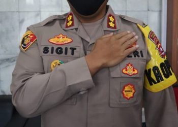Kapolres Cilegon Polda Banten AKBP Sigit Haryono. (IST)