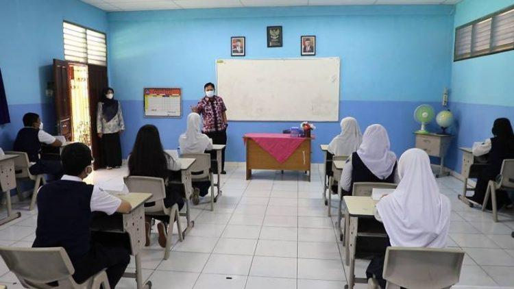 PTM terbatas di Kota Tangerang. (IST)