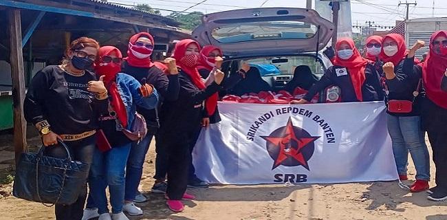 Srikandi Relawan Perjuangan Demokrasi (Repdem) Banten. (YUL)